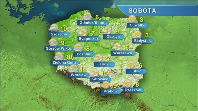 Pogoda w Szczecinie i nad morzem