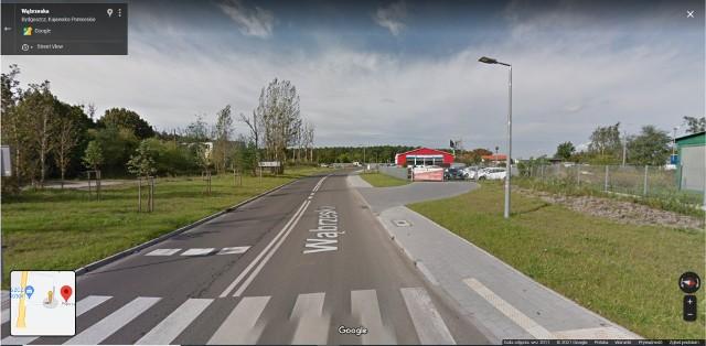 Ulica Wąbrzeska w Bydgoszczy