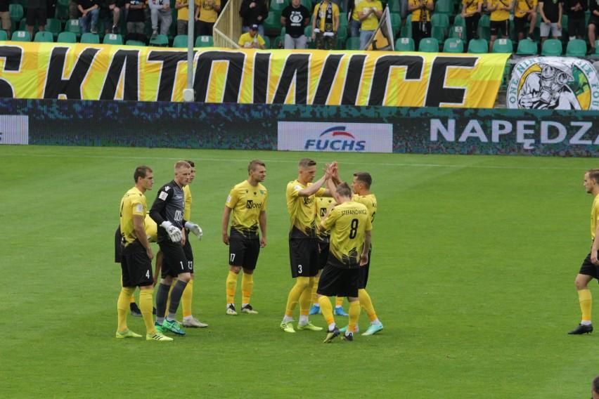 Piłkarze GKS Katowice zremisowali z Widzewem Łódź 1:1...