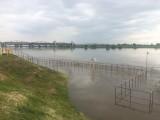 Stan pogotowia przeciwpowodziowego w powiecie malborskim i tczewskim. Wisła na wodowskazie w Tczewie przekroczyła 7 metrów