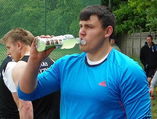 Konrad Bukowiecki z Gwardii Szczytno to jeden z najbardziej utalentowanych młodych lekkoatletów w Polsce.