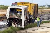 Wypadek na DK 1 w Bogusławicach. Rannych zostało 29 osób. Kierowca cysterny stanie przed sądem