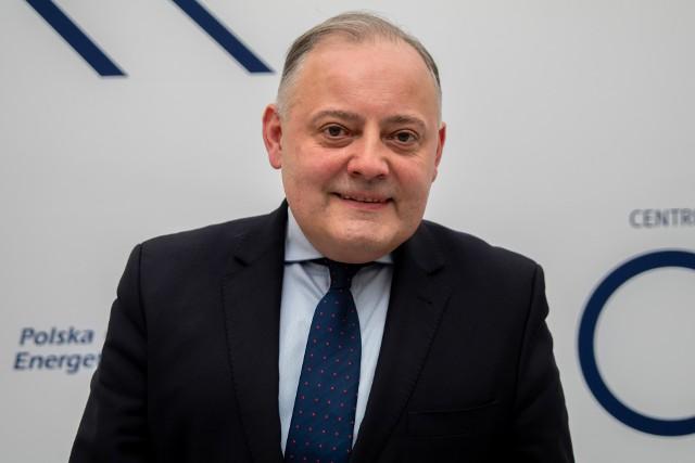 Wojciech Dąbrowski, prezes zarządu PGE Polska Grupa Energetyczna