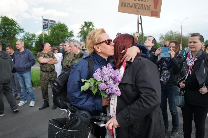 18 maja w Poznaniu odbył się spontaniczny protest...