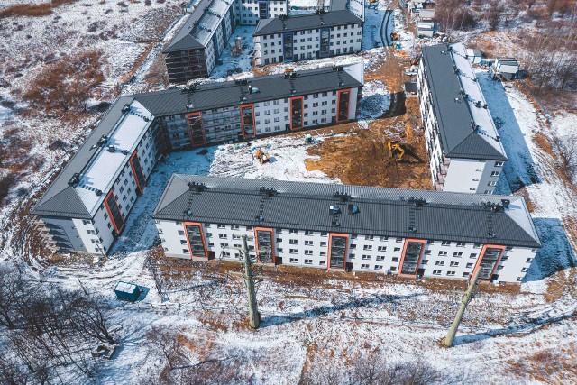 Budowa osiedla Mieszkanie Plus na krakowskich Klinach