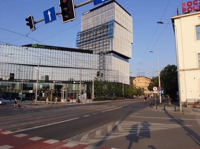 Ulica Stanisława Małachowskiego we Wrocławiu.