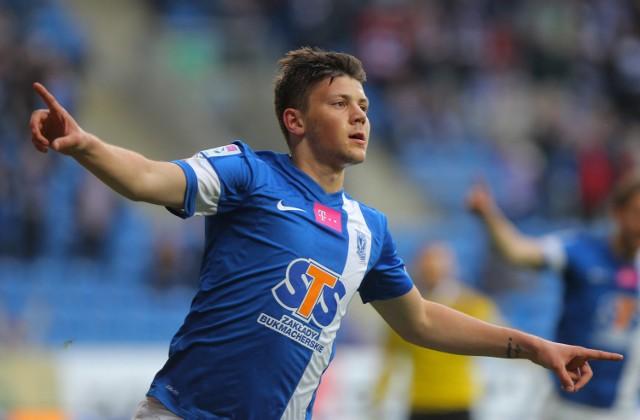 Dawid Kownacki zdobył pierwszego gola dla Kolejorza