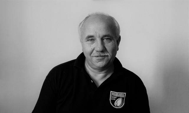 Jacek Kalka w koszulce swojej ukochanej Posnanii