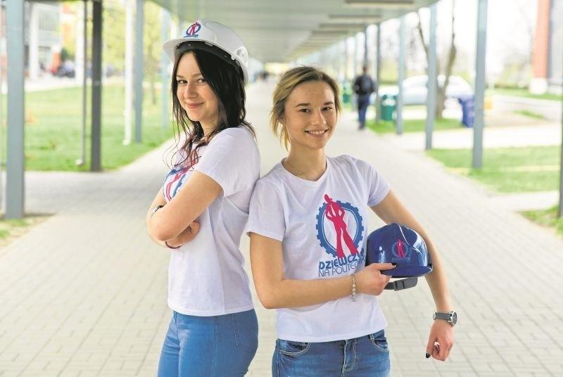 Patrycja Mundzik i Monika Pietyszuk (od lewej) studiują informatykę na Politechnice Białostockiej. Są też ambasadorkami akcji Dziewczyny na Politechniki.