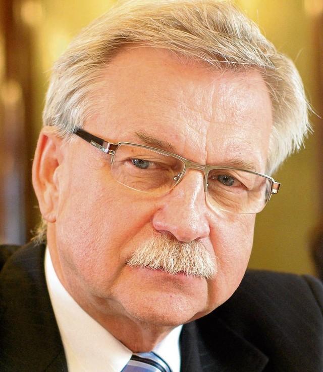 Wiceprezydent Tadeusz Trzmiel