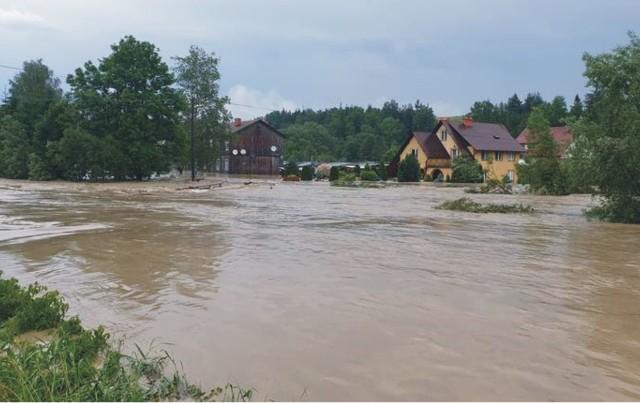Czerwcowa powódź spowodowała ogromne straty w gminie Bircza.