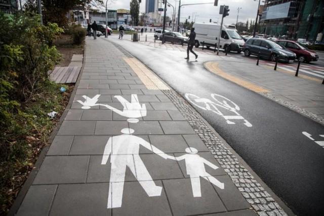 Chodnik antysmogowy w Warszawie