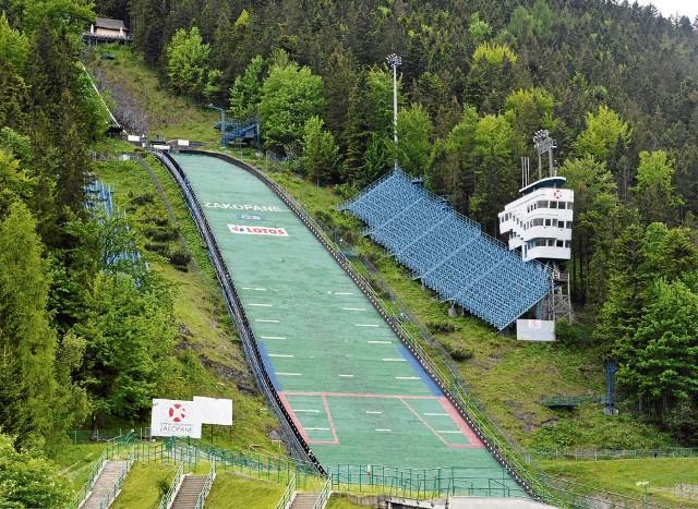 Wielka Krokiew w Zakopanem wymaga remontu, by mogły być na niej dalej organizowane międzynarodowe zawody sportowe