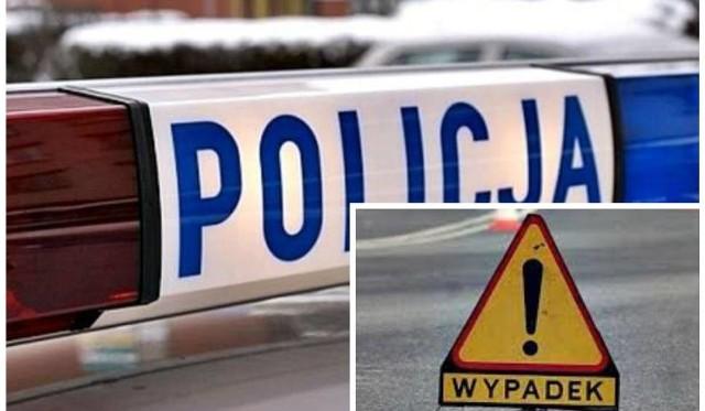 """Do zdarzenia doszło dziś przed godz. 19 na """"zebrze"""" na wysokości parkingu """"Alfy"""" od strony Wisły. Policjanci ustalają okoliczności i przyczyny tego zdarzenia."""