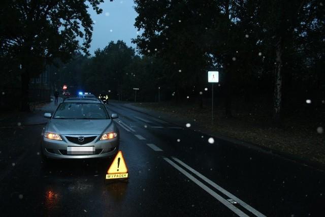 Jastrzębie: Kierowca potrącił kobietę na przejściu dla pieszych [ZDJĘCIA]