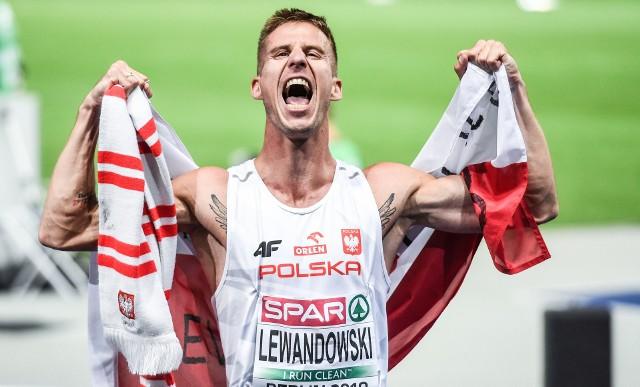 Marcin Lewandowski (CWZS Zawisza) po niesamowitym finiszu zdobył lekkoatletyczne wicemistrzostwo Europy na 1500 m w Berlinie, a nie na swoim ulubionym dystansie 800 m!