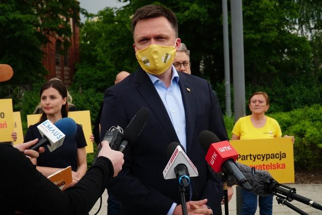 Partia Szymona Hołowni będzie miała reprezentanta w Radzie Miasta Poznania. W czwartek, 27 maja, Hołownia poinformował w Poznaniu, że członkiem jego partii, Polska 2050, została Agnieszka Lewandowska, obecnie wiceprzewodnicząca rady miasta.