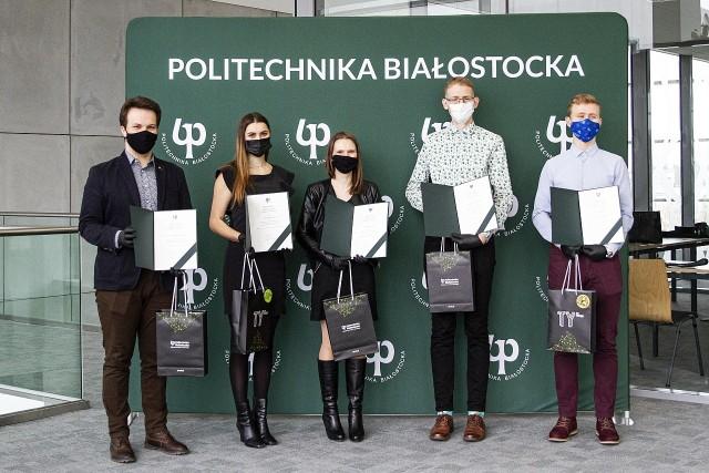 Politechnika Białostocka wręczyła certyfikaty Super Student Politechniki Białostockiej