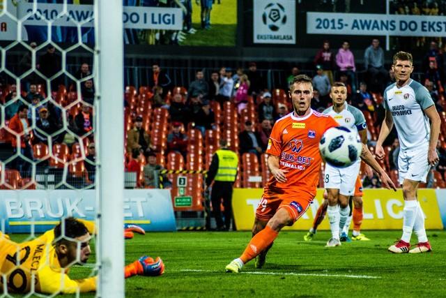 W swoim ostatnim meczu Fortuna I ligi zespół Bruk-Betu Termaliki, w derbach Małopolski, zremisował 2:2 z Puszczą Niepołomice