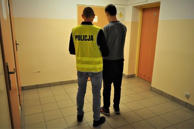 Zatrzymany mieszkaniec gminy Kołczygłowy