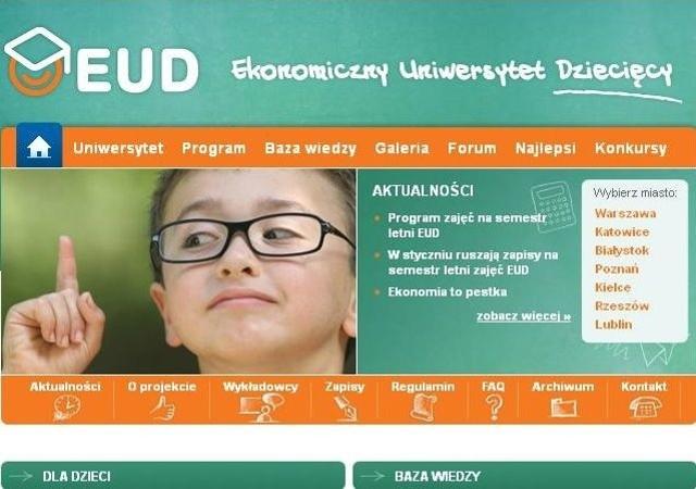 Ekonomiczny Uniwersytet Dziecięcy rozpoczyna zapisy
