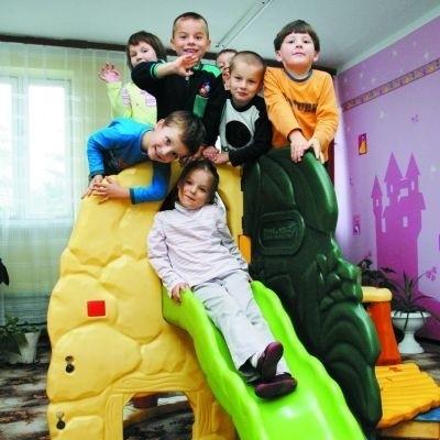 Dzieciaki z Przedszkola Miejskiego nr 2 w Wysokiem Mazowieckiem bardzo lubią się bawić