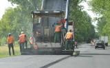 Intensywne roboty drogowe na trasie krajowej nr 32, na odcinku z Powodowa do Wolsztyna