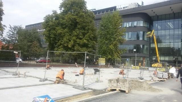 Przebudowa ulicy Stawowej w Katowicach