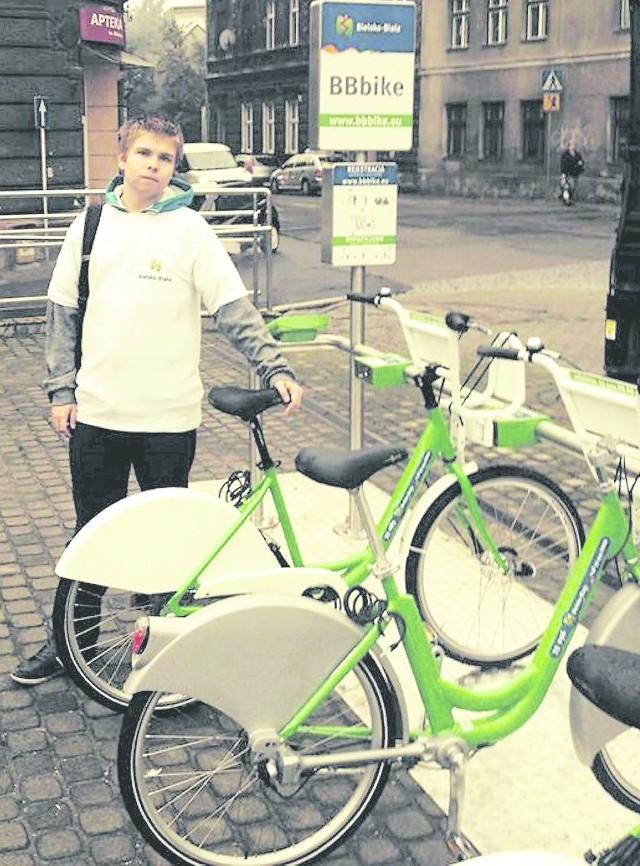 Od środy zielone miejskie rowery znów znajdą się w stacjach położonych w 12 miejscach Bielska-Białej
