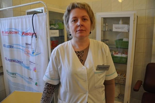 - Jesteśmy rozczarowane - mówi Kazimiera Celmerowska, przewodnicząca Związku  Zawodowego Pielęgniarek i Położnych  w Kluczborku.