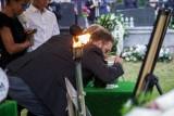 Tłumy pożegnały tragicznie zmarłego piłkarza. Miał 20 lat... [ZDJĘCIA]