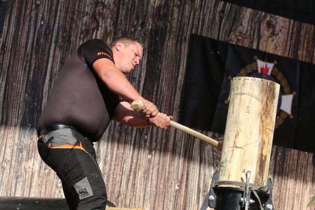 Najlepsi drwale z całej Europy mierzą się w Katowicach