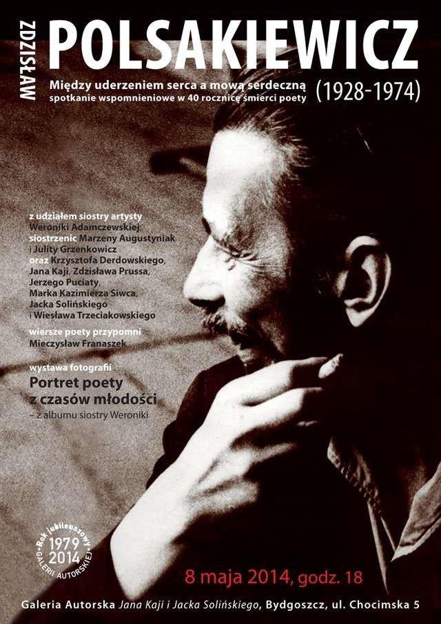 Poeta Zdzisław Polsakiewicz Powraca Express Bydgoski