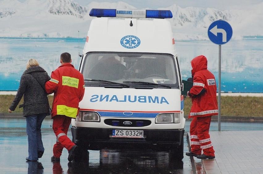 Wyciek amoniaku w Royal Greenland w Koszalinie. Trwa akcja strazaków