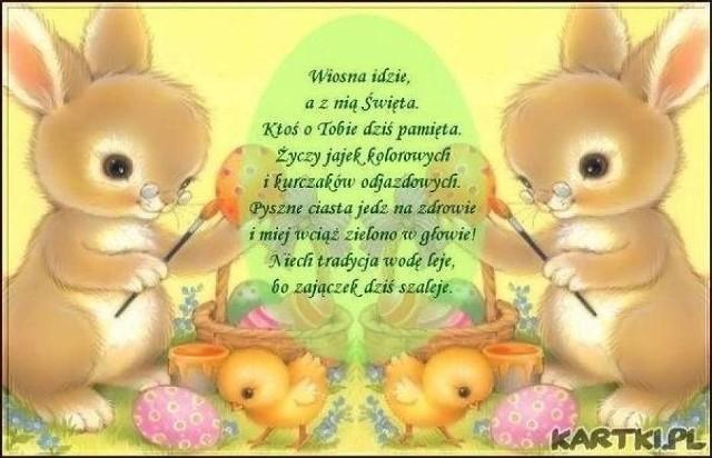 ŻYCZENIA WIELKANOCNE. Wesołych Świąt! Najpiękniejsze życzenia, kartki, wierszyki, łańcuszki. Życzenia na Wielkanoc [FB, SMS, E-MAIL]