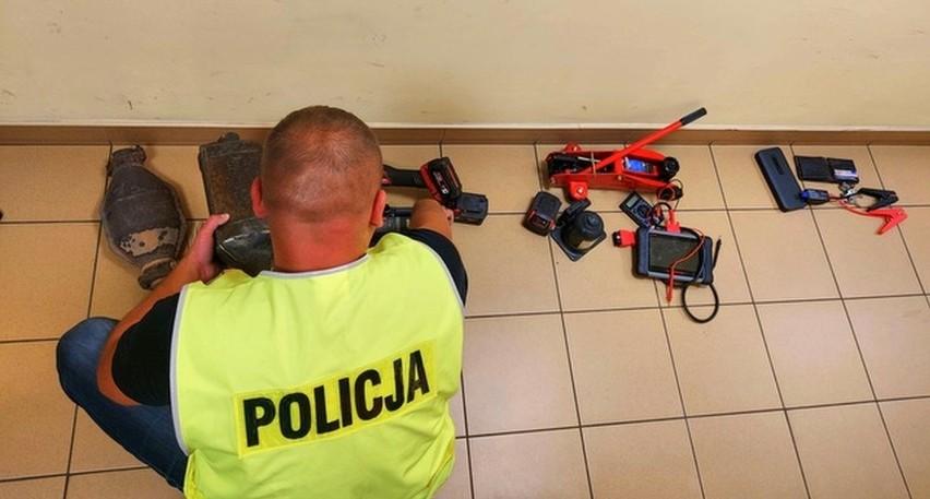 Kradli katalizatory z samochodów osobowych na terenie...
