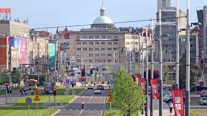 Ulica Korfantego w Katowicach