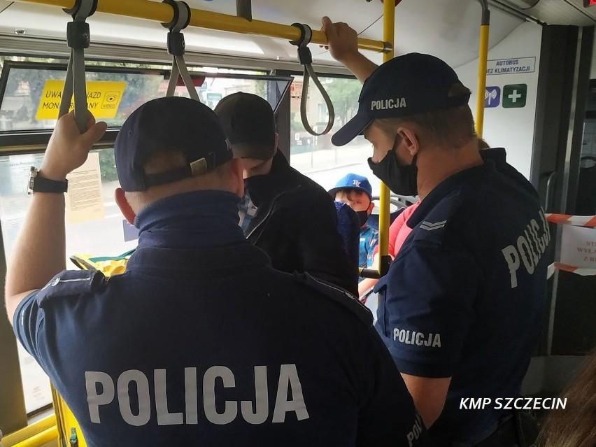 Za brak maseczki w autobusach i sklepach w Szczecinie posypią się mandaty