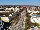 Lublin: Przebudowa Racławickich, Lipowej, Poniatowskiego. Zobacz inwestycję z lotu ptaka