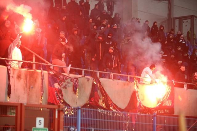 W sezonie 2017/2018 na meczach Górnika z Piastem nie było spokojnie.