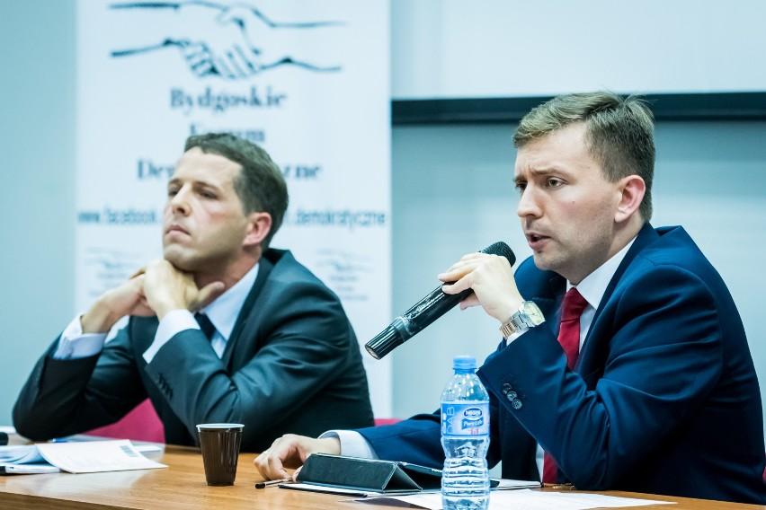 Debata Schreiber vs Bukowiński w Bydgoszczy.