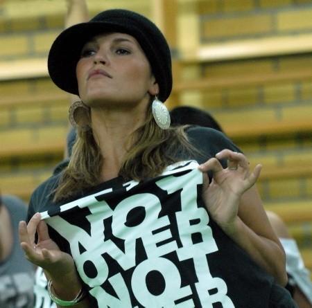 Na co dzień Basia Derkowska tańczy hip-hop w formacji Spoko