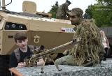 Jasne Błonia na wojskowo. Piknik na szczyt NATO [wideo, zdjęcia]