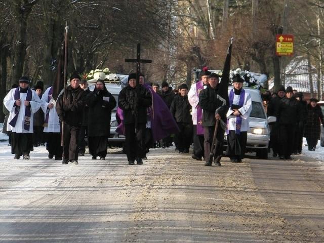 Hajnówka - ostatnia droga czterech ofiar wypadkuHajnówka - ostatnia droga czterech ofiar wypadku