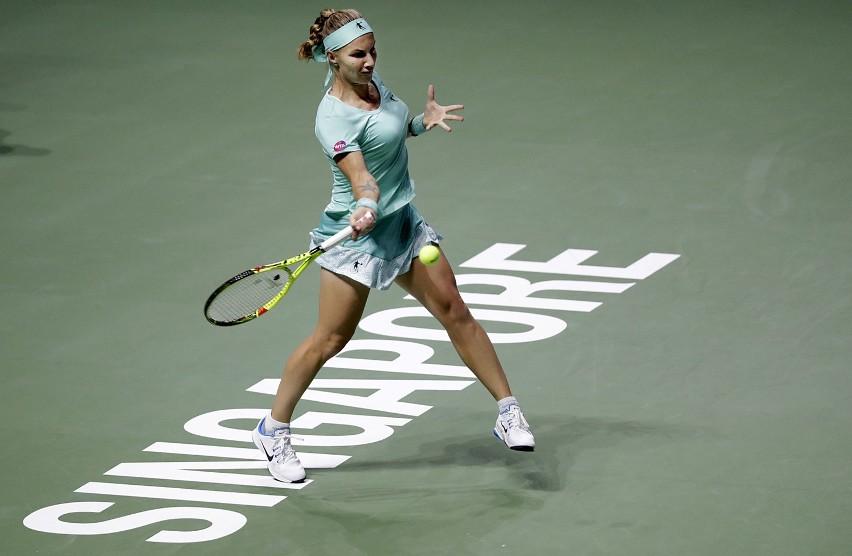 Swietłana Kuzniecowa w meczu z Karoliną Pliskovą