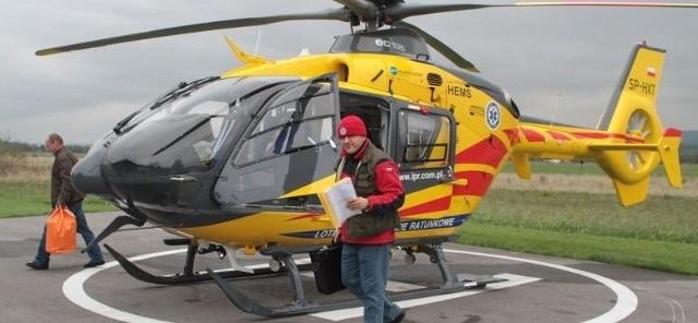 Lądowisko dla helikopterów jest konieczne, jeśli szpital chce prowadzić SOR
