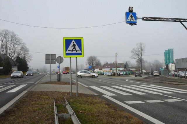 Skrzyżowanie w Krzyszkowicach