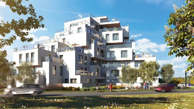 - Lokalizacja budynku w najwyższym punkcie w okolicy, na zakręcie głównej ulicy narzuciła konieczność stworzenia obiektu nietypowego, który będzie stanowił ważny punkt orientacyjny w przestrzeni miasta - tłumaczą autorzy projektu.