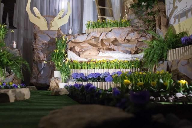 Grób Pański w Sanktuarium Matki Bożej Księżnej Sieradzkiej
