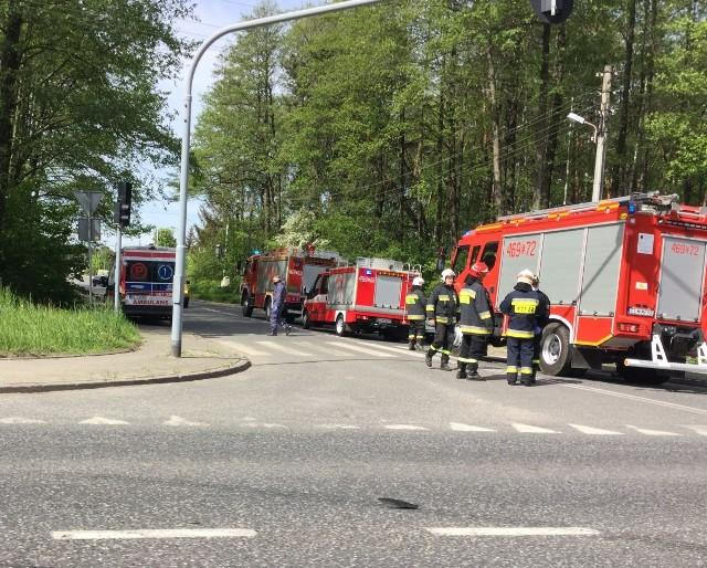 Wypadek między Łodzią i Tuszynem